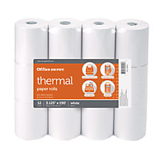 OfficeMax Thermal register roll 3 18