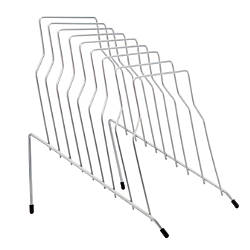 OfficeMax Wire Step File Silver