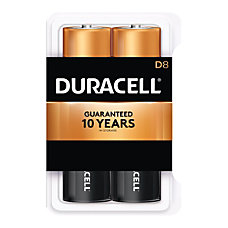 Duracell Coppertop Batteries D Pack Of