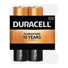 Duracell Coppertop Batteries C Pack Of