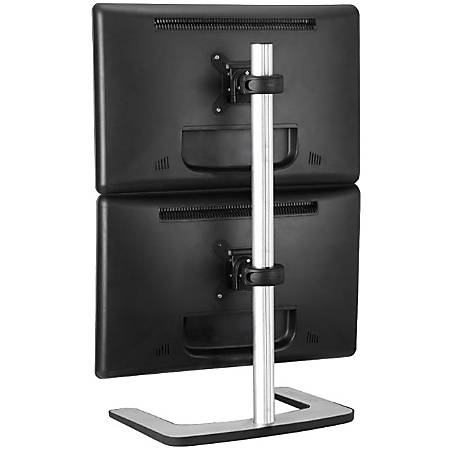 Atdec Visidec Dual-monitor Freestanding Vertical Desk Stand