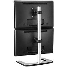 Atdec Visidec Dual monitor Freestanding Vertical