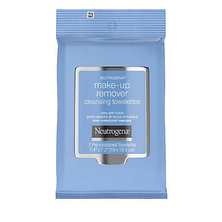 Neutrogena Makeup Remover Wipes, Purple, Pack Of 7