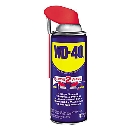 WD-40® Smart Straw® Spray Lubricant, 11 Oz, Pack Of 12 Cans