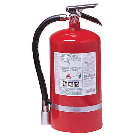 Halotron I Fire Extinguishers, For Class B and C Fires, 15 1/2 lb Cap. Wt.