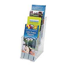 OfficeMax Brand 4 Tier Literature Holder