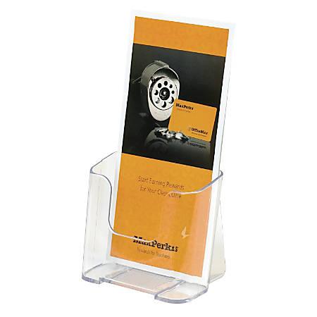 "OfficeMax® Brand High-Back Literature Holder 4-1/4"" x 7-3/4"""