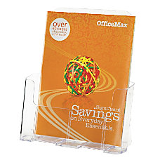 OfficeMax High Back Literature Holder 9