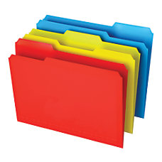 Office Depot Brand Poly File Folders