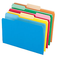 Office Depot Brand Colored File Folders