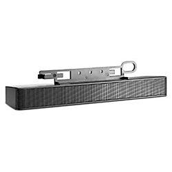 HP Sound Bar Speaker - 2 W RMS - Black - 200 Hz to 20 kHz - USB