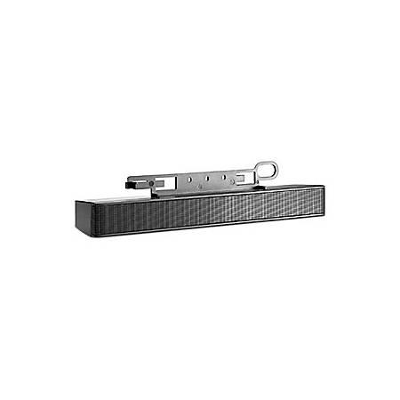 HP Sound Bar Speaker - 2 W RMS - Black