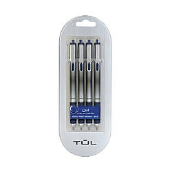 TUL Gel Pens Retractable Needle Point