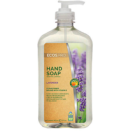 Earth Friendly Products Hand Soap, Lavender, 17 Oz.