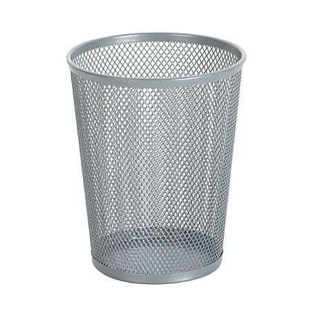 Brenton Studio™ Mesh Jumbo Pencil Cup, Silver