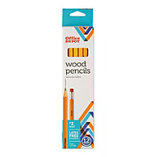 Office Depot Brand Wood Pencils Unsharpened