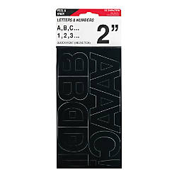 Cosco Vinyl Peel Stick Letters And Numbers 2 Helvetica