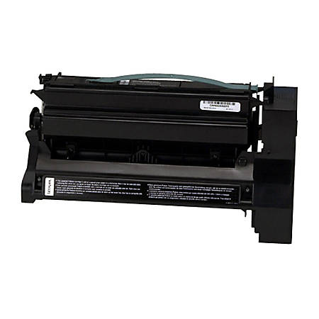 Lexmark - High Yield - black - original - toner cartridge LRP, government GSA - for Lexmark C752, C752dn, C752dtn, C752fn, C752Ldn, C752Ldtn, C752Ln, C752n