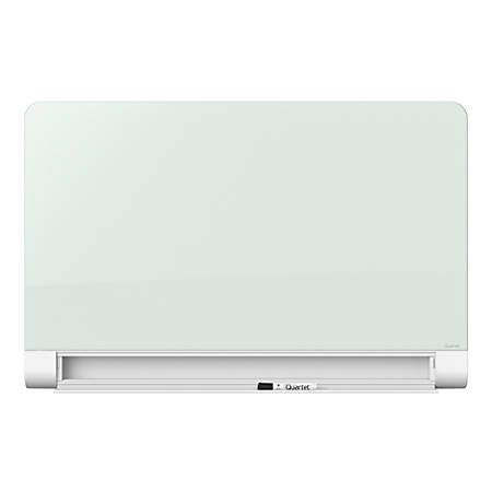 "Quartet® Horizon™ Glass Magnetic Dry-Erase Board, 28"" x 50"", White"