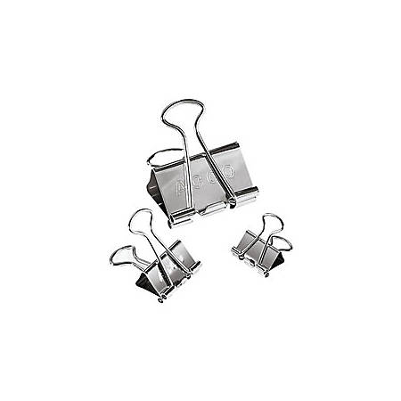 ACCO® Presentation Binder Clips, Silver, Pack Of 30