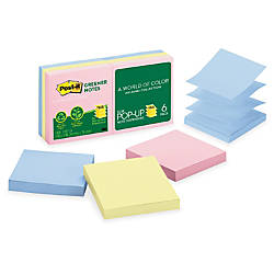 Post it Greener Pop up Notes