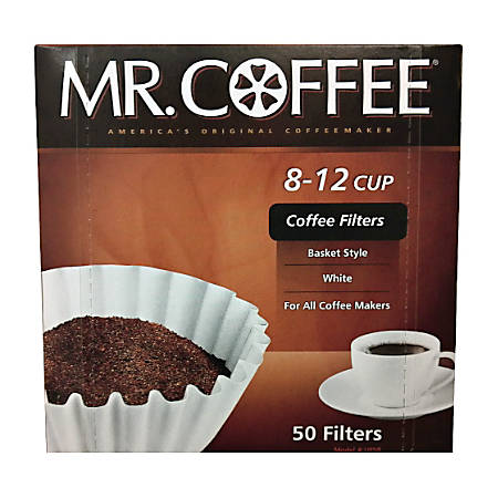 Mr. Coffee 8 - 12 Cup Coffee Filters, Box Of 100