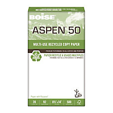 Boise ASPEN 50 Multipurpose Paper Legal