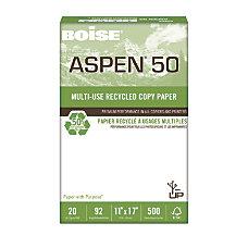 Boise ASPEN 50 Multipurpose Paper Ledger