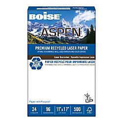 Boise ASPEN Laser Paper Ledger Paper