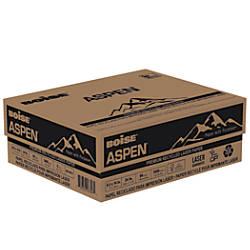 Boise ASPEN Laser Paper Legal Paper