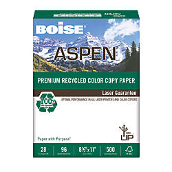 Boise ASPEN Premium Color Copy Paper