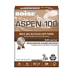 Boise ASPEN Multipurpose Paper 3 Hole