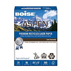 Boise ASPEN Laser Paper Letter Paper
