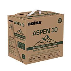 Boise ASPEN 30 SPLOX Speed Loading