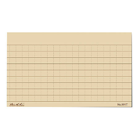"""Rite in the Rain® All-Weather Index Cards, 3"""" x 5"""", Tan, Pack Of 100"""