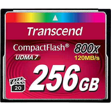Transcend Premium 256 GB CompactFlash