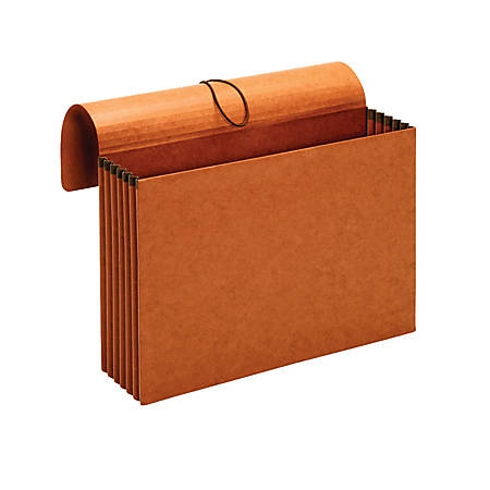 """[IN]PLACE® Wallets, 3 1/2"""" Expansion, Letter Size, Brown, Box Of 10"""
