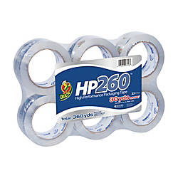 Duck HP260 Packaging Tape High Performance