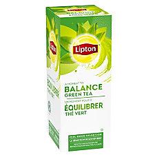 Lipton Green Tea Bags Box Of
