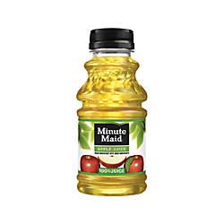 Minute Maid Juice Apple 10 Oz