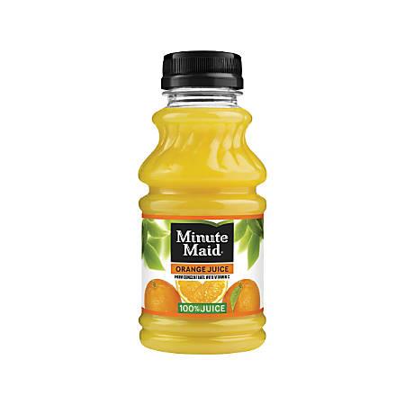 Minute Maid Juice, Orange, 10 Oz, Pack Of 24