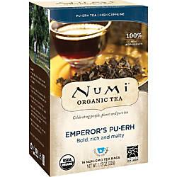 Numi Organic Tea Emperors Pu Erh