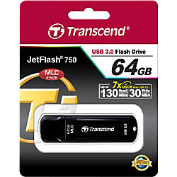 Transcend 64GB JetFlash 750 USB 30
