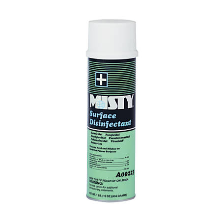 Amrep Surface Disinfectant Spray, Fresh Scent, 16 Oz