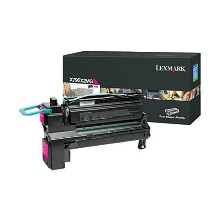 Lexmark - Extra High Yield - magenta - original - toner cartridge LCCP - for Lexmark X792de, X792dte, X792dtfe, X792dtme, X792dtpe, X792dtse