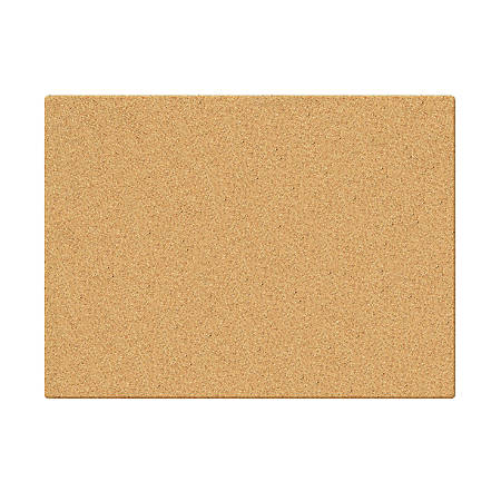 "INFUSE Canvas Cork Board, 23"" x 35"""