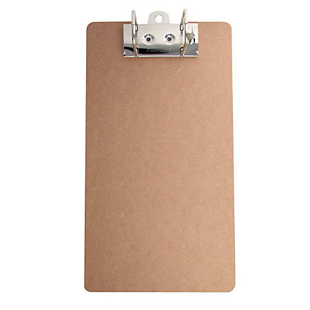 Just Basics Archboard Clipboard, Legal Size, Brown
