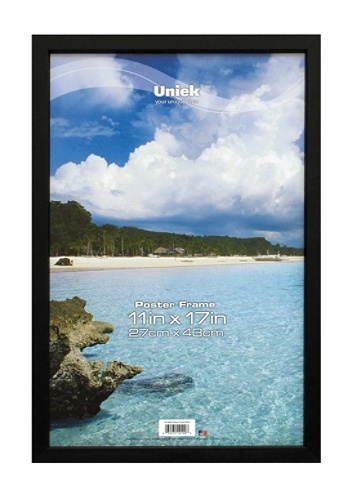 Uniek Gallery Poster Frame 11 x 17 Black by Office Depot & OfficeMax