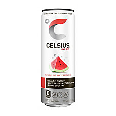 Celsius Sparkling Watermelon Fitness Drinks 12