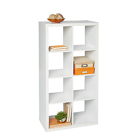 cube ellamodern collections glass large clear bookcases shelving bookcase office acme baxter black